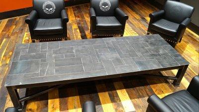 Harley-Davidson 1903 Table in Lobby