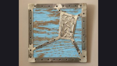 Frame with 1 in angle iron