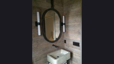 Mirror & Sink Base