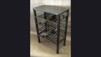 Wine Rack Table - 26 in wide