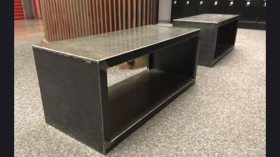 HD Museum Lobby Bench