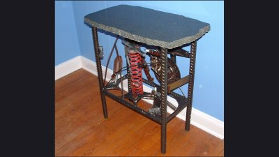 table-with-junkparts