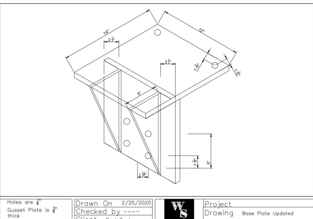 Drafting Services, Welding Shop