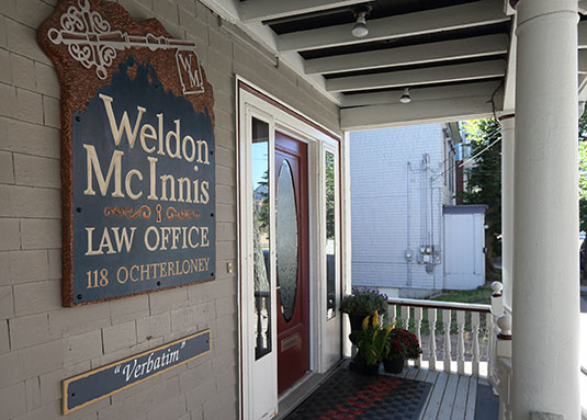 Weldon McInnis Office