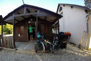Slapen in een campinghuisje in Frankrijk
