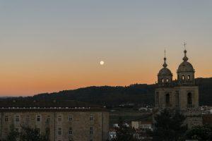 Santiago de Compostela by night