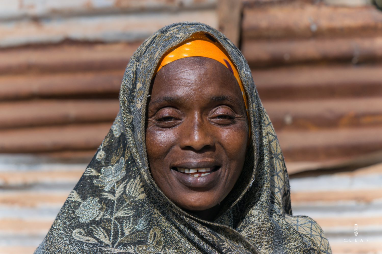 Woman in Gambia portret picture