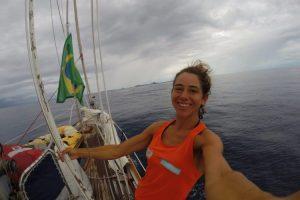 Sailer happy to arrive in Brazil