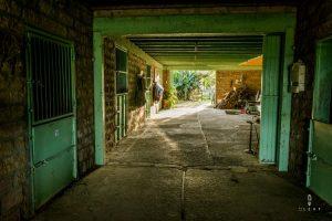 Horse stable in Rio Grande de Sul in Brazil