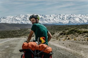 Belgian cyclists on Ruta 40 in Argentina