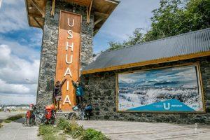 Arrival at the Ushuaia Entrance gate