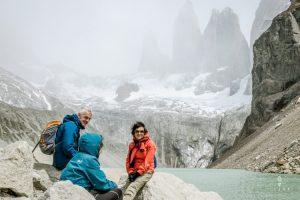 Mirador Las Torres in Torres del Paine