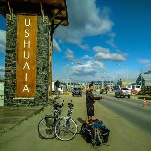 Liften naar Buenos Aires in Ushuaia