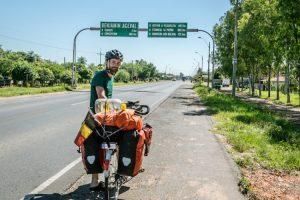 Start van de Transchaco, de groene hel in El Chaco