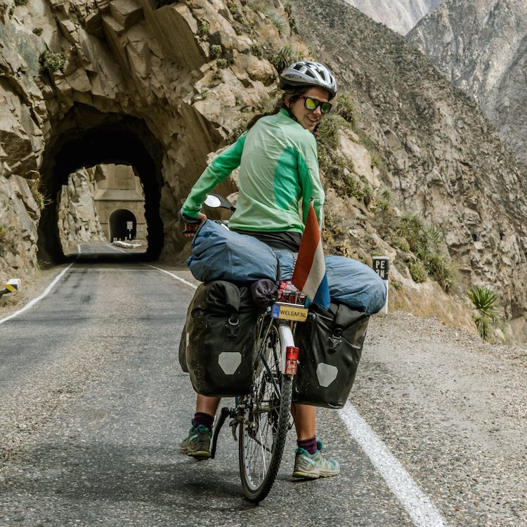Cañon del Pato, a beautiful cycling route in Peru