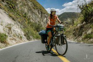 Op de fiets in Ecuador