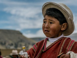 jongetje uit Peru