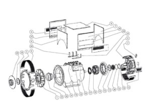 Stamford Alternators Parts | Welfare Machinery