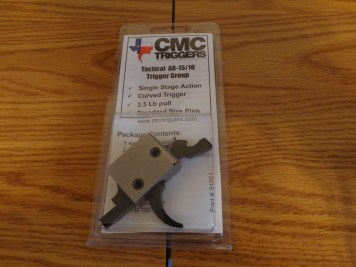 The CMC Trigger as it comes in the package.