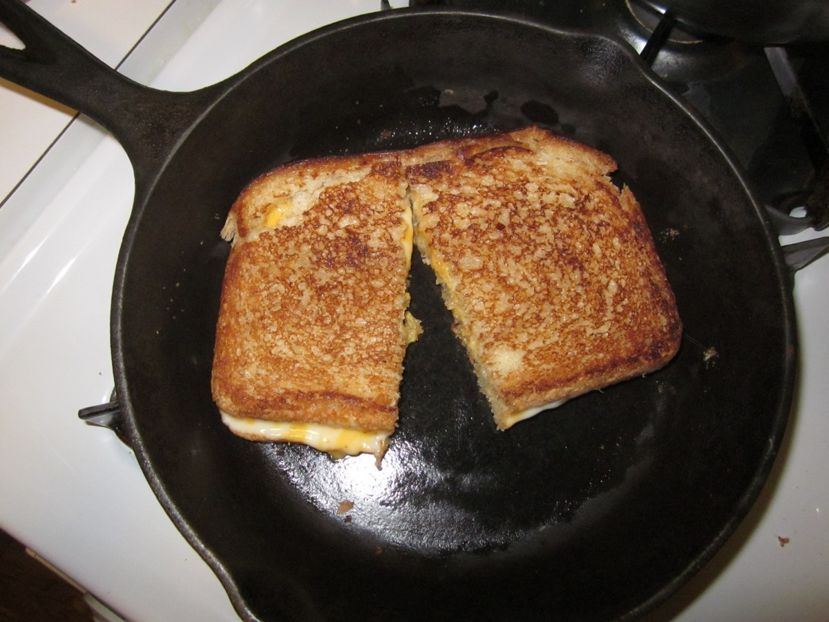 Tip of the Week- Cooking w/Cast Iron & Creative Grilled Cheese Ideas