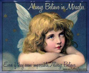 Inspirational Quote about Believing in Miracles