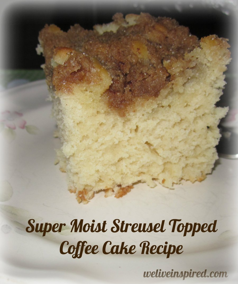 Streusel topped Coffee Cake Recipe