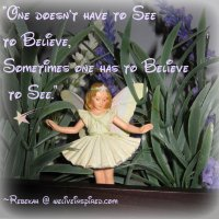 After a Summer's Rain- A poem about Fairies and Believing!