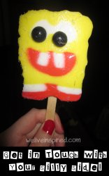 Spongebob Squarepants Popsicle