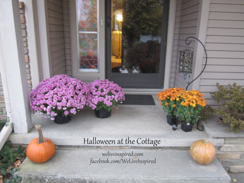 Fall Decor at the cottage