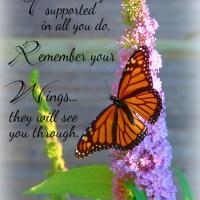 Growing Wings - Inspirational Poetry by Rebekah