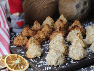 kokosmakronen vegan backen zuckerfrei weihnachten