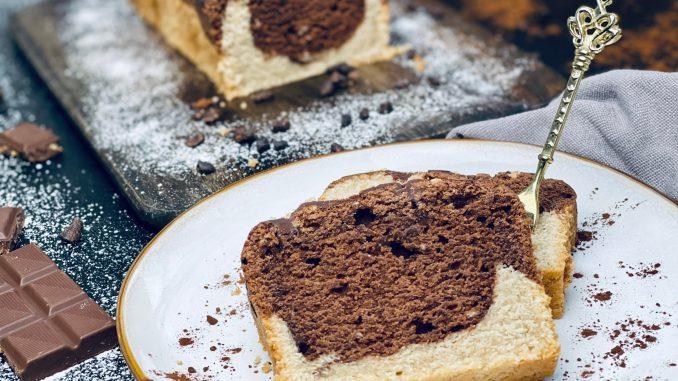 Veganer Marmorkuchen ohne Ei