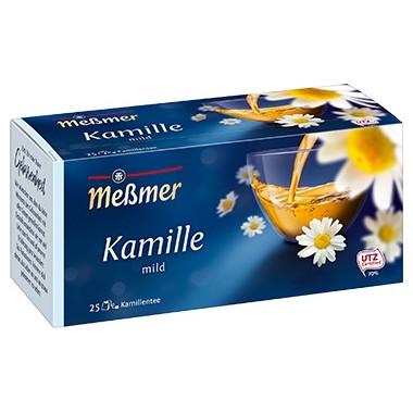 """Testsieger und """"gut"""" im Test von Stiftung Warentest 4/2017: Meßmer Kamille"""