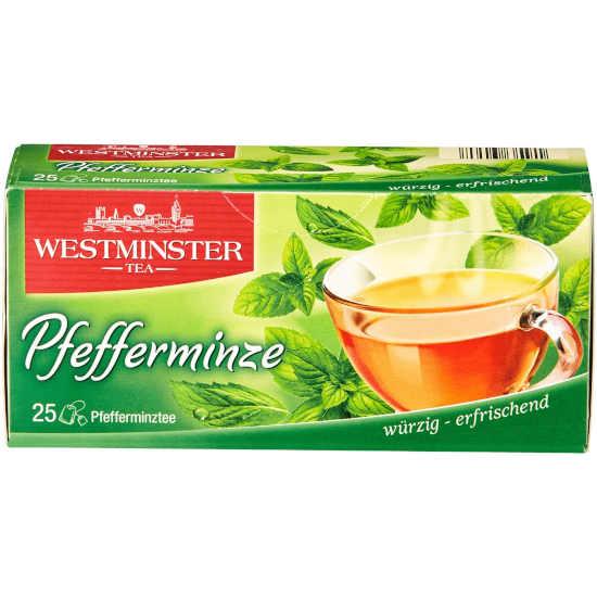 gut im Test von Stiftung Warentest 04/2017: Westminster Tea Pfefferminze (Aldi Nord)