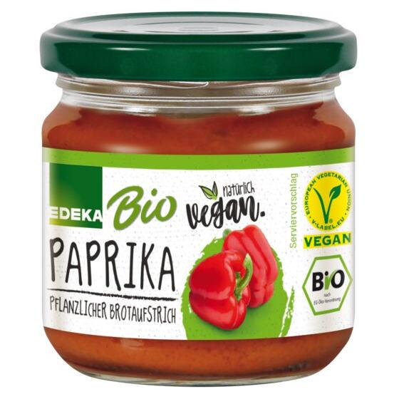 Edeka Bio + Vegan Paprika Pflanzlicher Brotaufstrich