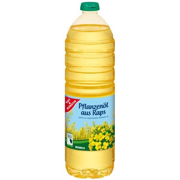 gut im Test von Öko-Test 11/2020: Gut&Günstig Pflanzenöl aus Raps (Edeka)