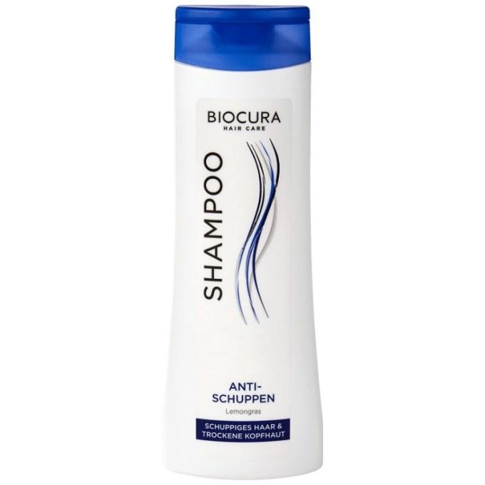 """""""gut"""" im Test von Stiftung Warentest 10/2017: Biocura Hair Care Shampoo Anti-Schuppen Lemongras (Aldi Nord)"""