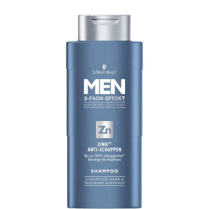 """""""gut"""" im Test von Stiftung Warentest 10/2017: Schwarzkopf Men Zink Anti-Schuppen-Shampoo"""