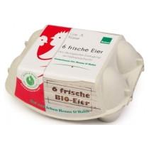 """""""sehr gut"""" im Test von Öko-Test 4/2019: Biovum Huhn & Hahn 6 frische Eier mit Hahnenaufzucht, Bioland (Bio)"""