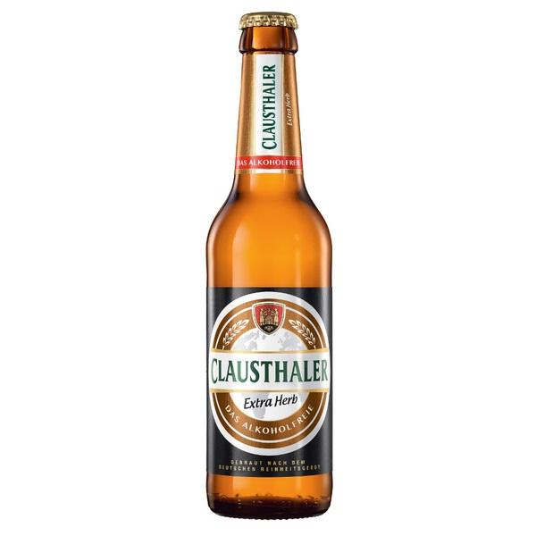 """""""Gut"""" im Test von Stiftung Warentest 6/2018: Clausthaler Extra Herb Das Alkoholfreie"""