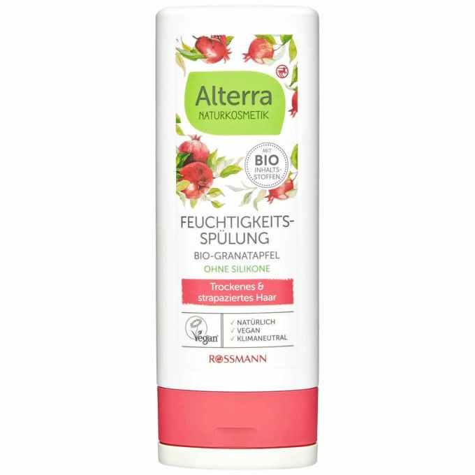 Alterra Feuchtigkeits-Spülung Bio-Granatapfel & Bio-Aloe Vera (Rossmann)