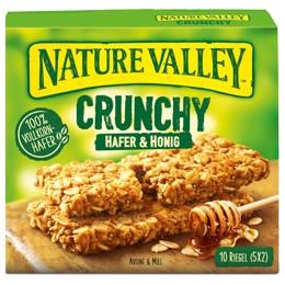 gut im Test von Öko-Test 4/2020: Nature Valley Crunchy Hafer & Honig