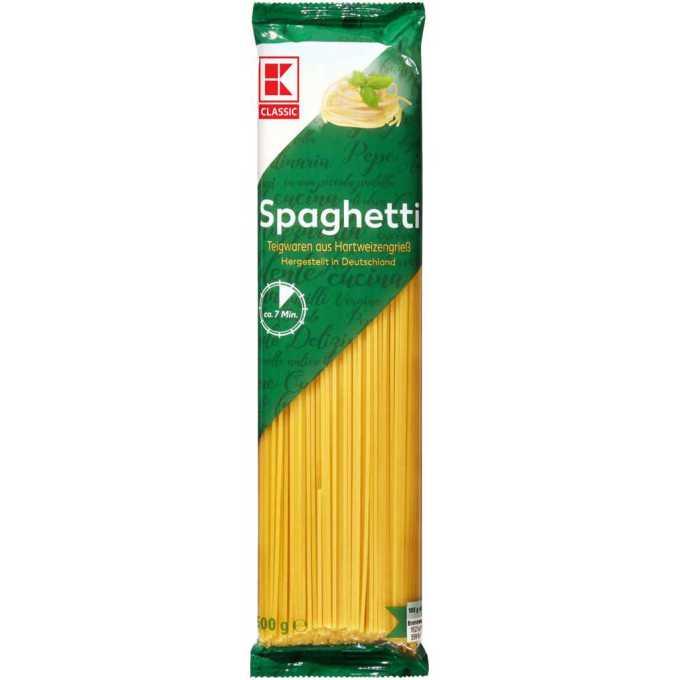 gut im Test von Öko-Test 02/2021: K-CLASSIC Spaghetti 500g (Kaufland)