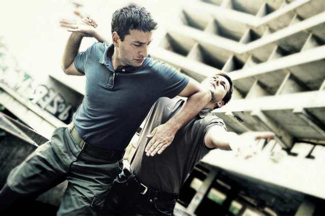 man showing krav maga self defense skills at opponent | types of martial arts | types of mixed martial arts | what are the different types of martial arts