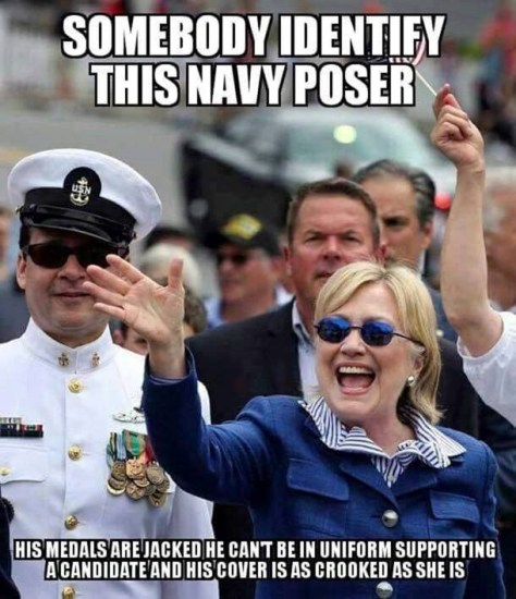 Navy Imposter