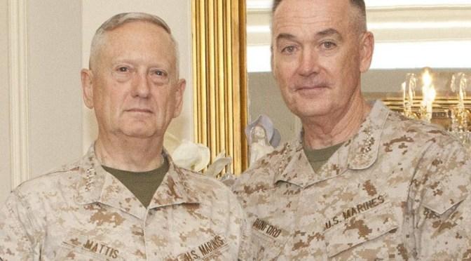 Army to become 'Land Marines' under Mattis, Dunford-led Pentagon reorganization