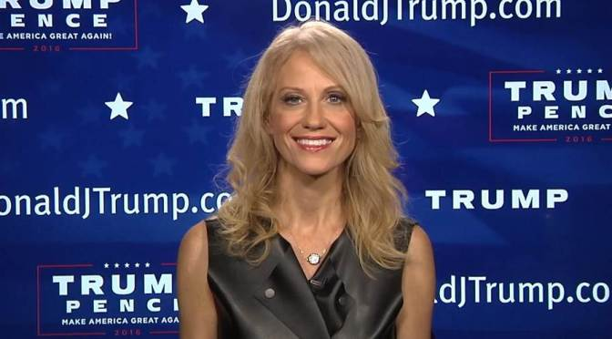 Who is Kellyanne Conway?