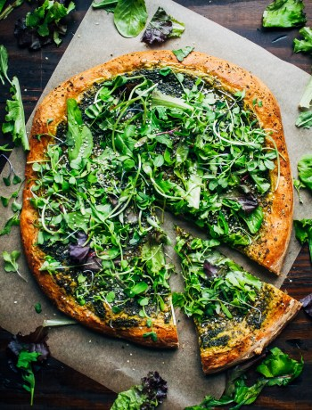 Green Goddess Pizza | Well and Full