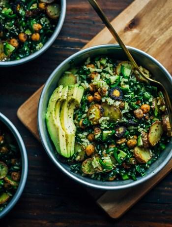 Detox Kale Salad w/ Pesto | Well and Full