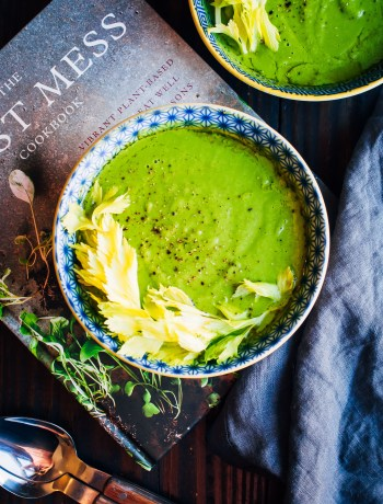Laura's Small Batch Roasted Soup | Well and Full | The First Mess Cookbook | #vegan #soup #recipe